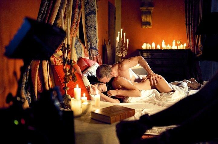 красивые постельные сцены