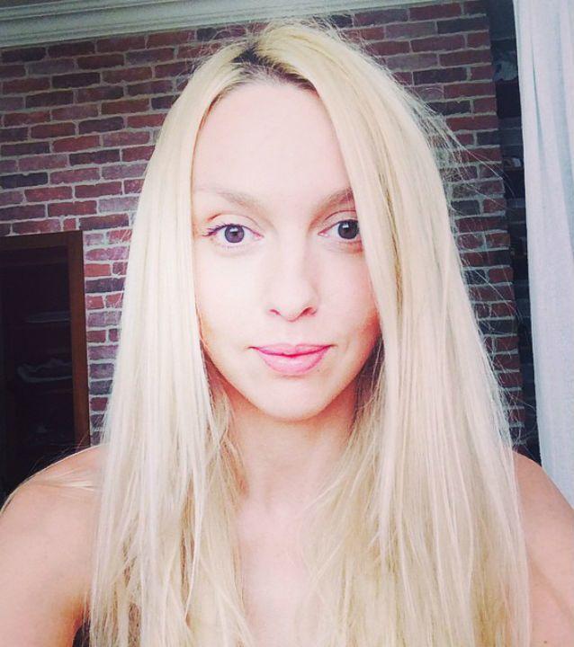 Фото оли поляковой с макияжем