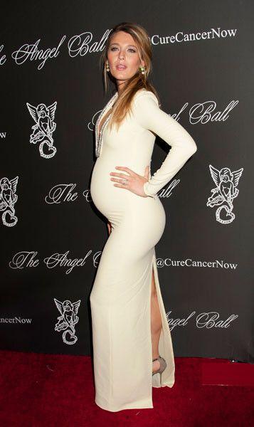 Фото беременные в платье в обтягивающих