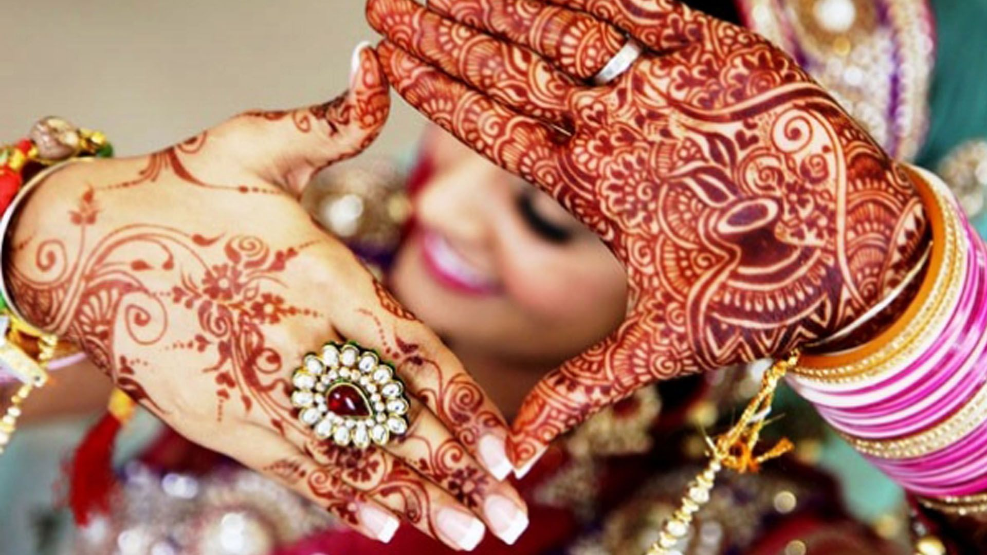 symbolism within henna and and its significance in indian traditional wedding ceremonies