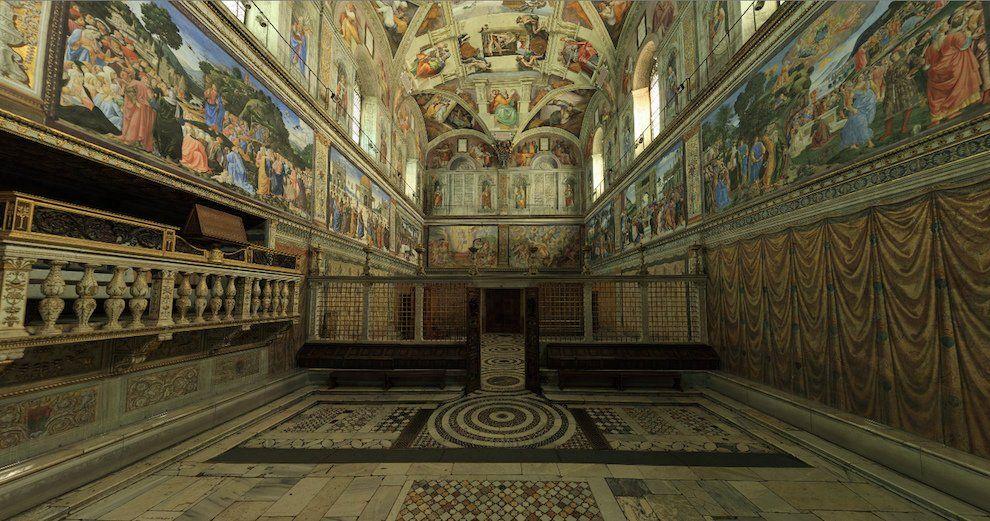 Сикстинская капелла Ватикан
