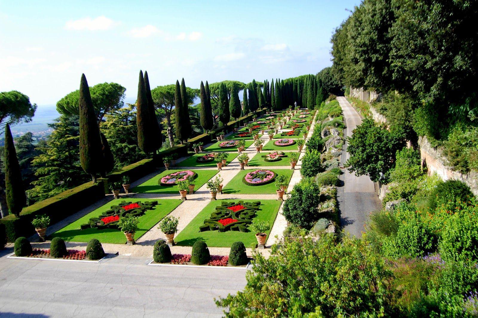Сады и парки Ватикана