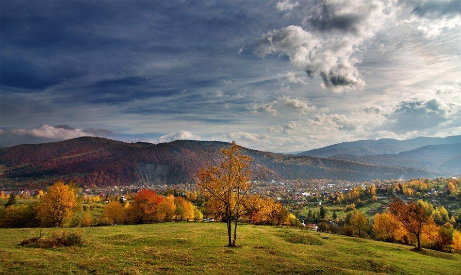 яремче осенью фото