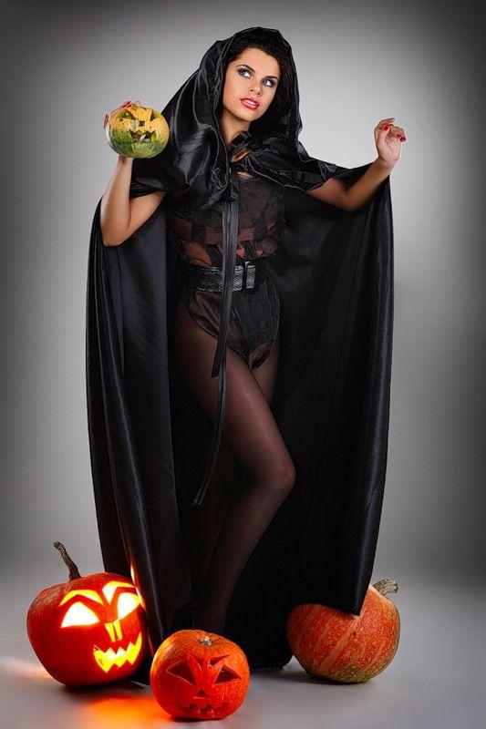 Костюм ведьмы для хэллоуина своими руками